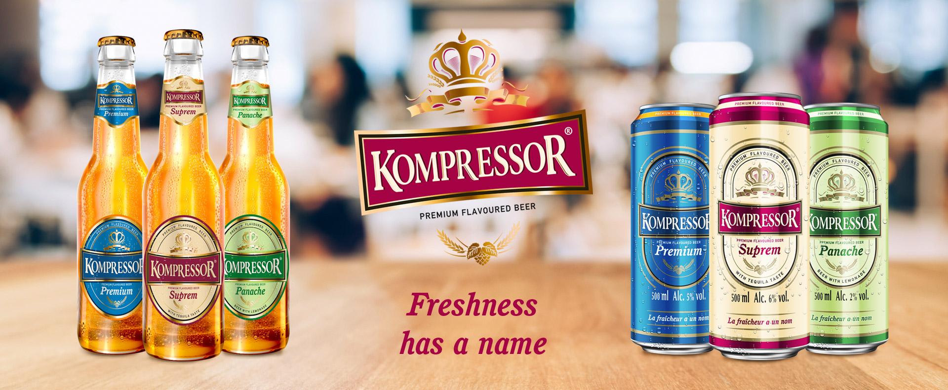 KOMPRESSOR Beers