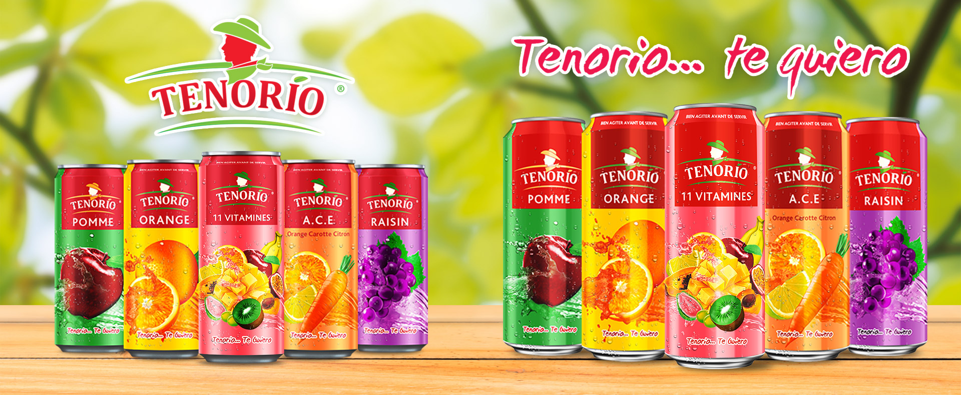 Jus de fruits TENORIO