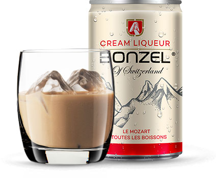 Packaging Bonzel Cream Liqueur