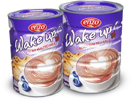 Enzo wake up packaging